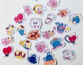 BT21 Character Stickers (44 Small Stickers)