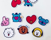 BT21 Small Character Magnets