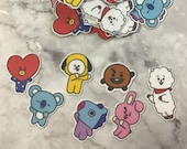 BT21 Character Stickers (35 Small Stickers)