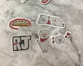 BT21 RJ Character Stickers (30 Stickers)