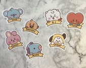 BT21 Character Small Baby Themed Stickers (35 Small Stickers)
