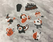 BT21 Character Small Halloween Stickers (54 Small Stickers)