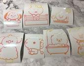BT21 Baby Character Vinyl Stickers