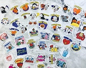 BT21 Character Small Halloween / Fall and Christmas / Winter Themed Stickers (48 Small Stickers)