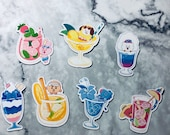 BT21 Small Character Drink Magnets