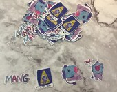 BT21 Mang Character Stickers (32 Stickers)
