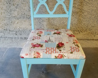 Reupholstered Chair Etsy