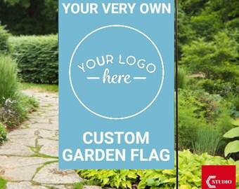 Garden flag etsy