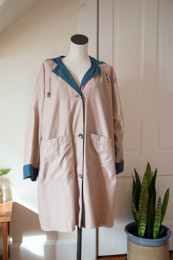 LONDON FOG Trench-Style Spring Jacket