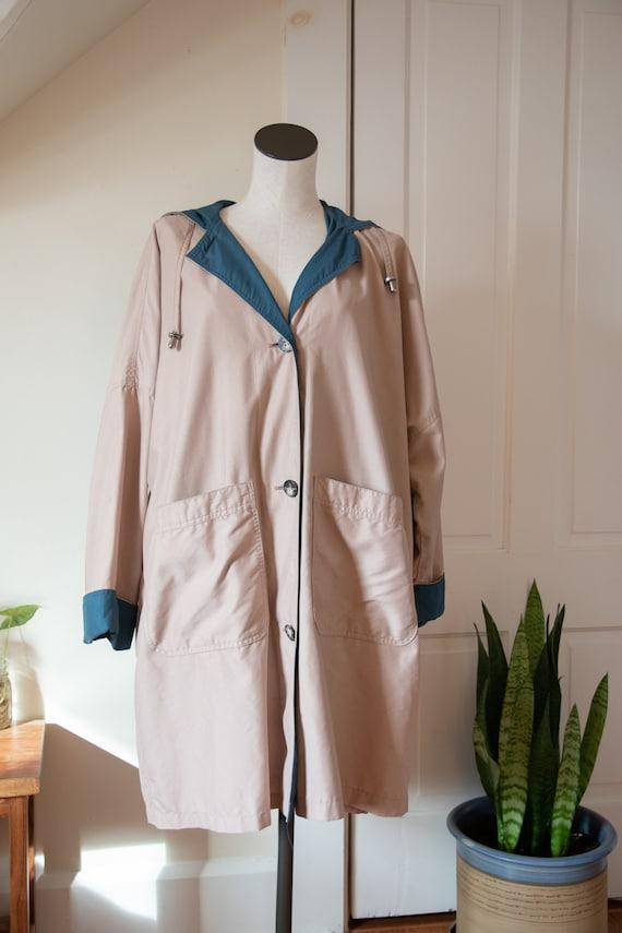 PLUS SIZE London Fog Trench-Style Spring Jacket - image 1