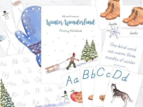 Winter Wonderland Printing Bundle