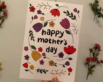 Mother's Day Card - Flowers