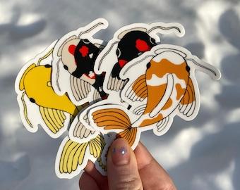 Koi Fish Sticker Pack