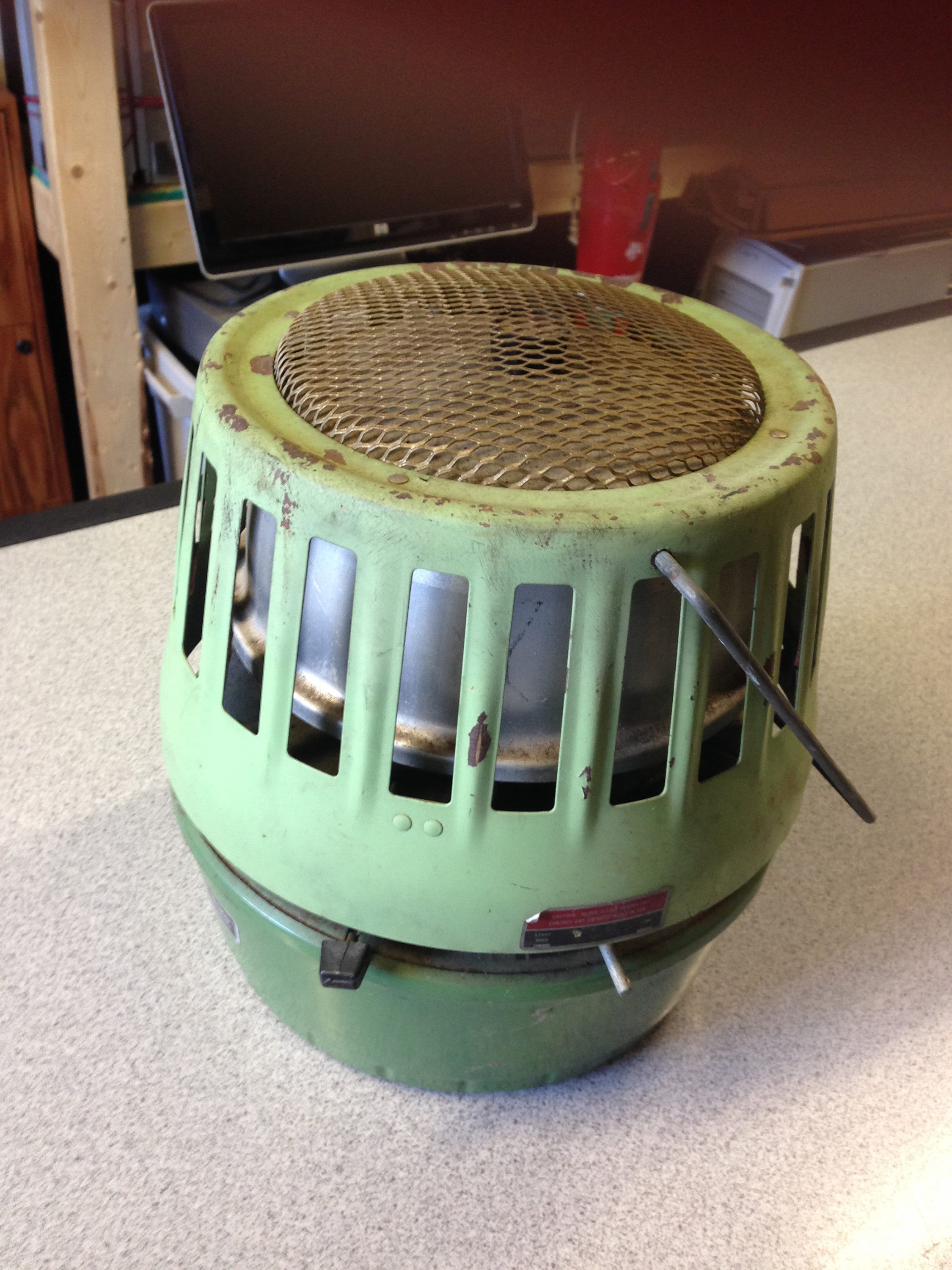 SEARS Adjustable Propane Flameless Catalytic Heater New In