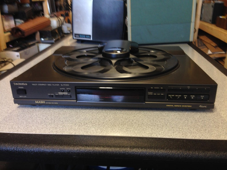 Technics Multi CD Player Model SL-PC503