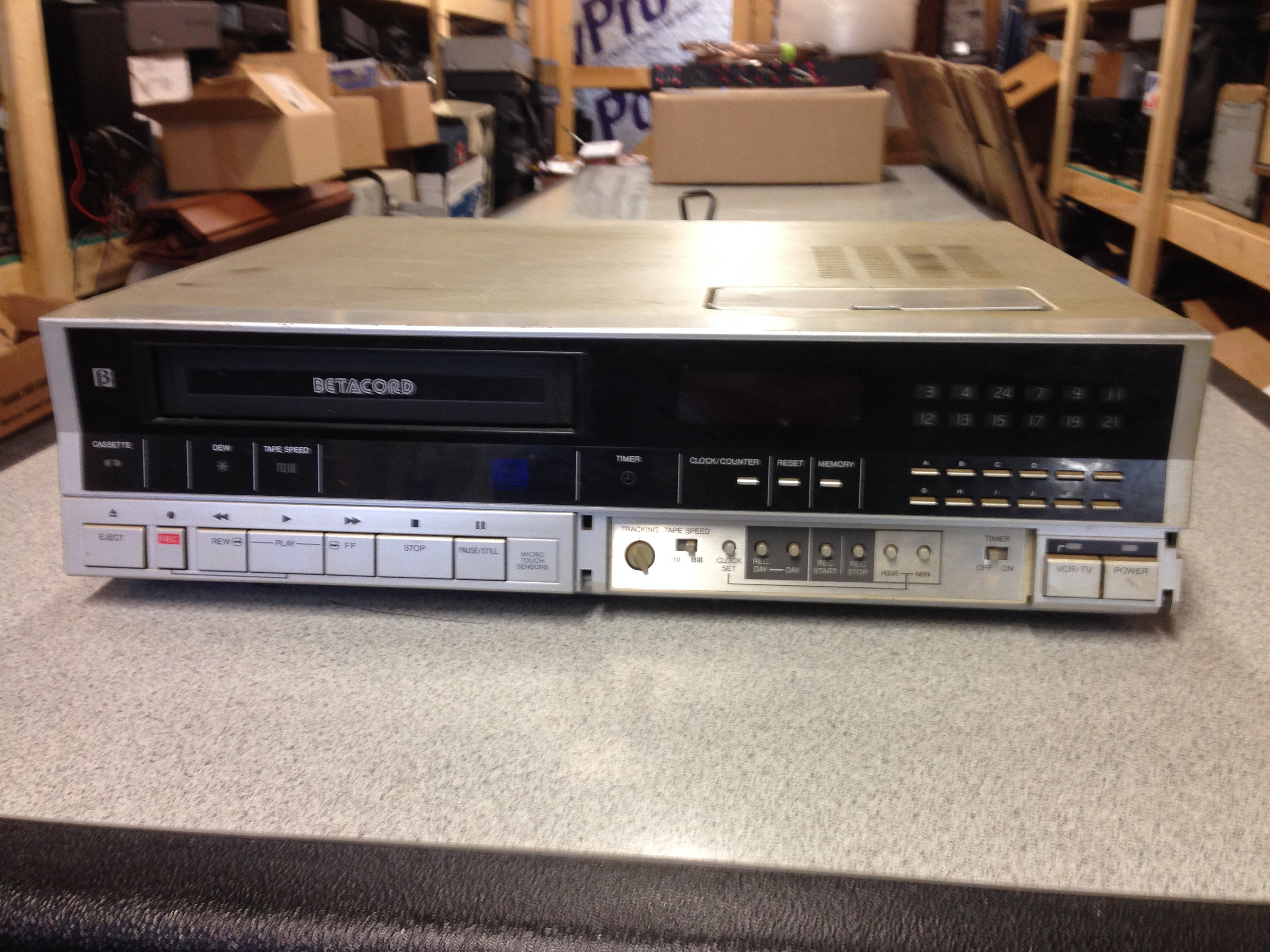 betamax player new