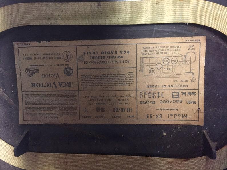Rca Victor Radio Serial Numbers