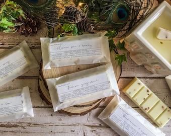 Christmas Scents | Quality Handmade Wax Melt Snap Bar | Soy Wax | Seasonal Scents | Handmade in UK