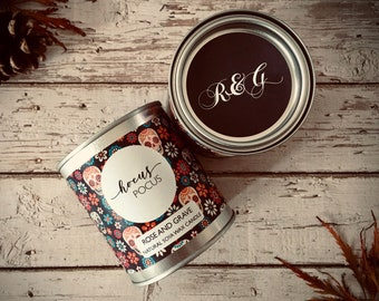Hocus Pocus Scented Natural Soya Wax Candle - Paint Pot Container Candle - Halloween Special