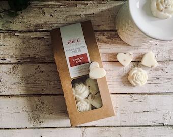 Jamaican Café Scented Natural Soya Wax Melts - Boxed melts