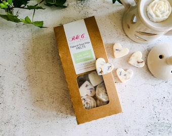 Earl Grey & Cucumber Scented Natural Soya Wax Melts - Boxed melts