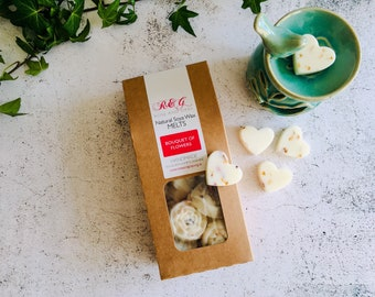 Bouquet of Flowers Scented Natural Soya Wax Melts - Boxed melts