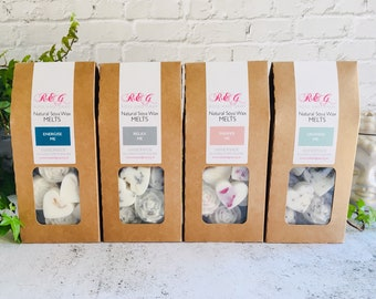 Spa Day Selection - Scented Natural Soya Wax Melts - Spa Range - Boxed melts