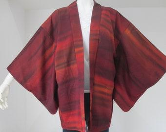N° 111 japonais vintage veste Kimono Haori bon état !