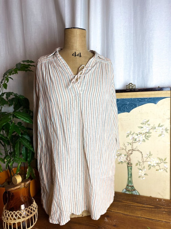 Authentic Cube Sugar Workers Tunic Light Cotton Bl