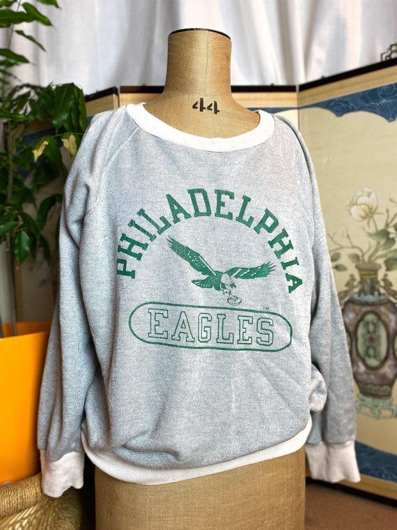 Vintage 1970s Champion Blue Bar Philadelphia Eagle