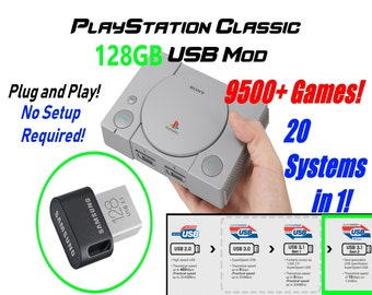 Playstation classic | Etsy