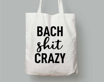 5fe326b4d68 Bach Shit Crazy-Bach Shit Crazy Tote Bag-Bach Shit Crazy Party Favor-Bachelorette  Bag-Bachelorette Party favor-Bachelorette Tote Bags