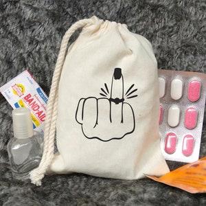 Set of 20Bachelorette Survival Kit  Ring Finger  Bachelorette Party Favors  Engagement Party  Bridal Party  Hangover Kit  favor bags