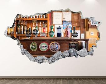 ANHEUSER BUSCH Vinyl Decal Sticker Vintage Man Cave Fridge Car Bar Decor Beer