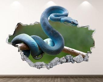 Snake Wall Art Etsy