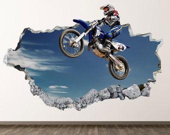Motocross Wall Art Etsy