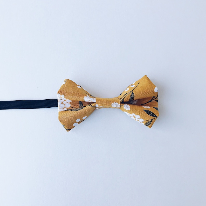 Adult Mens Red Plaid Yellow Blue Formal Pretied Elastic Necktie Accessory Bowtie