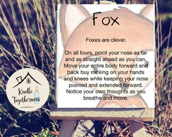 Nature Affirmation Cards - Grounded Movement