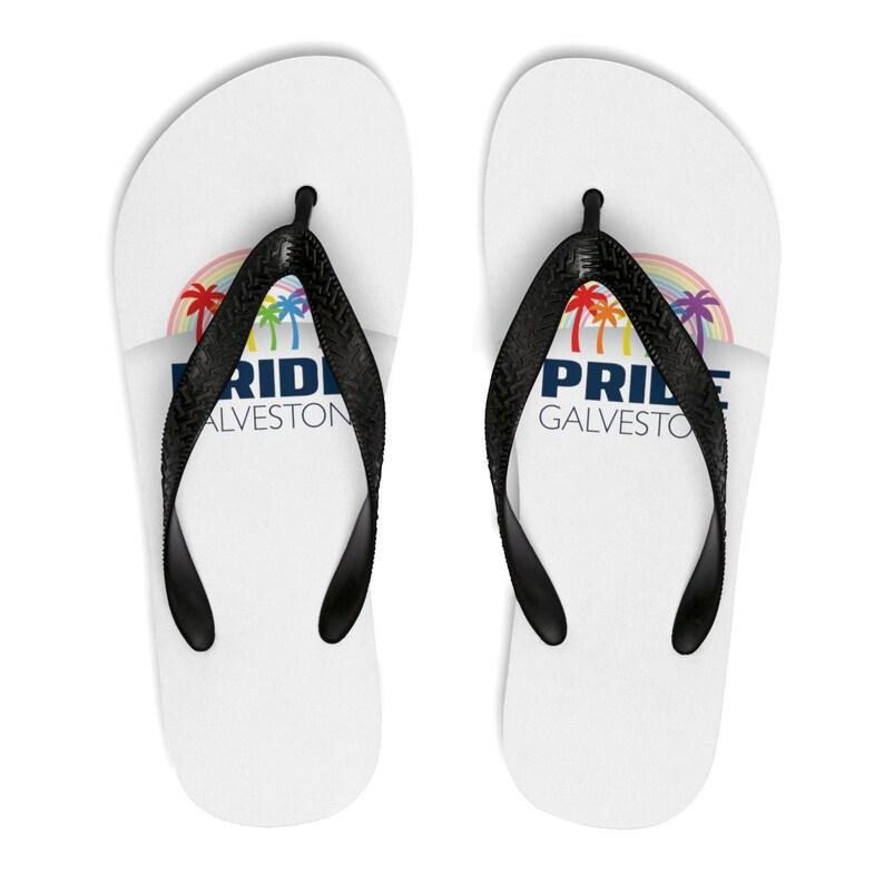 Pride Galveston Unisex FlipFlops