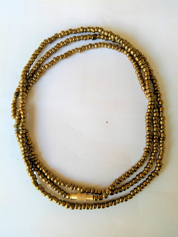 Belly Beads With Clasps- Waistbead Shop- African Jewelry- African Waistbeads- Masai Red Waist Beads Belly Chain African Waist Beads