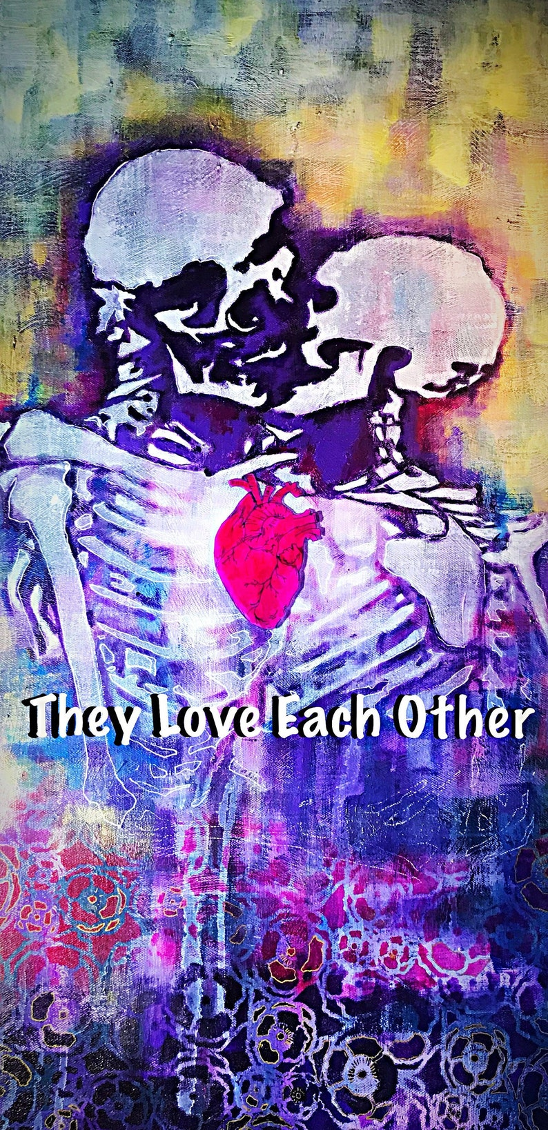 Vinyl Sticker Grateful Dead They Love Each Other Tleo Etsy