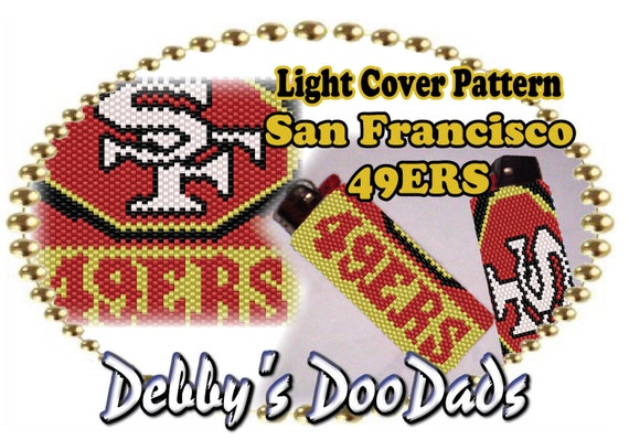 Counted Cross Stitch Pattern San Francisco 49ers Logo Free US Shipping