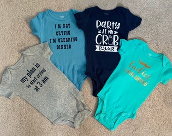Baby Shower Gift I have Literally No Idea What You/'re Saying Onesie\u00ae Baby Boy Onesie\u00ae Baby Girl Onesie\u00ae Baby Clothes Baby Gift