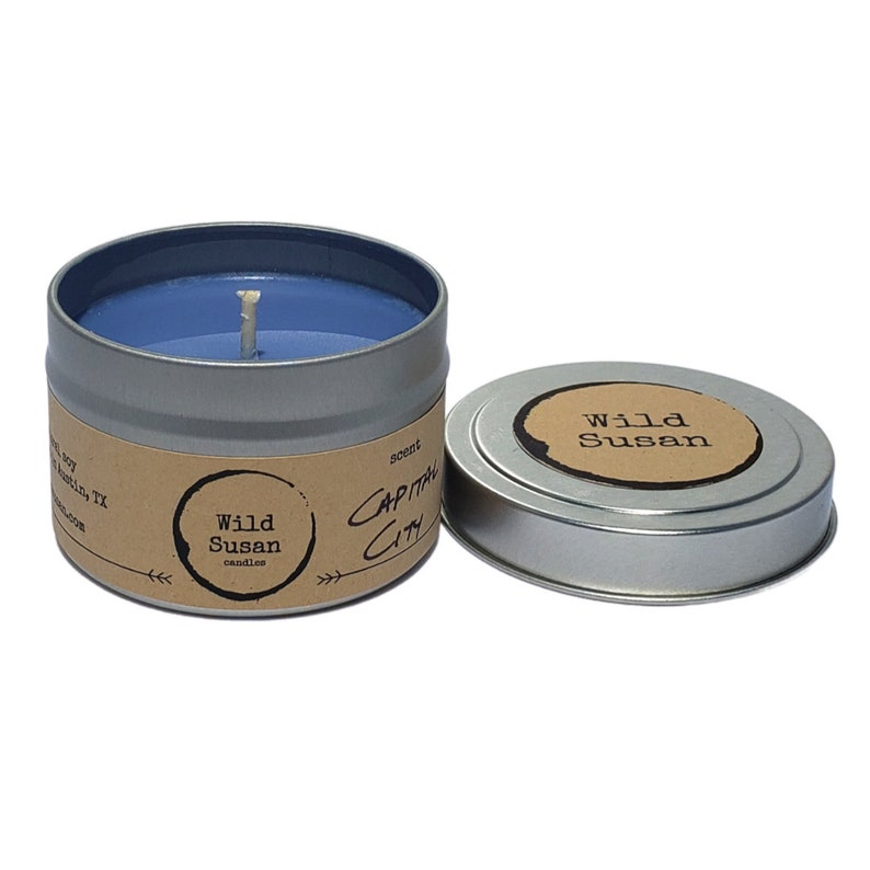 White Birch + Cactus Blossom Soy Candle   Wax Melt Capital City