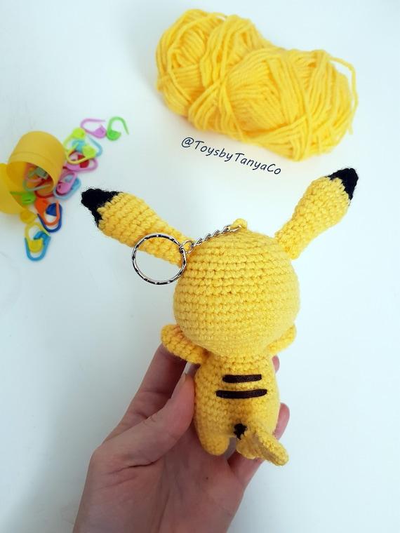 Pikachu pokemon plush amigurumi crochet toy   Amigurumi, Móvil de ...   760x570
