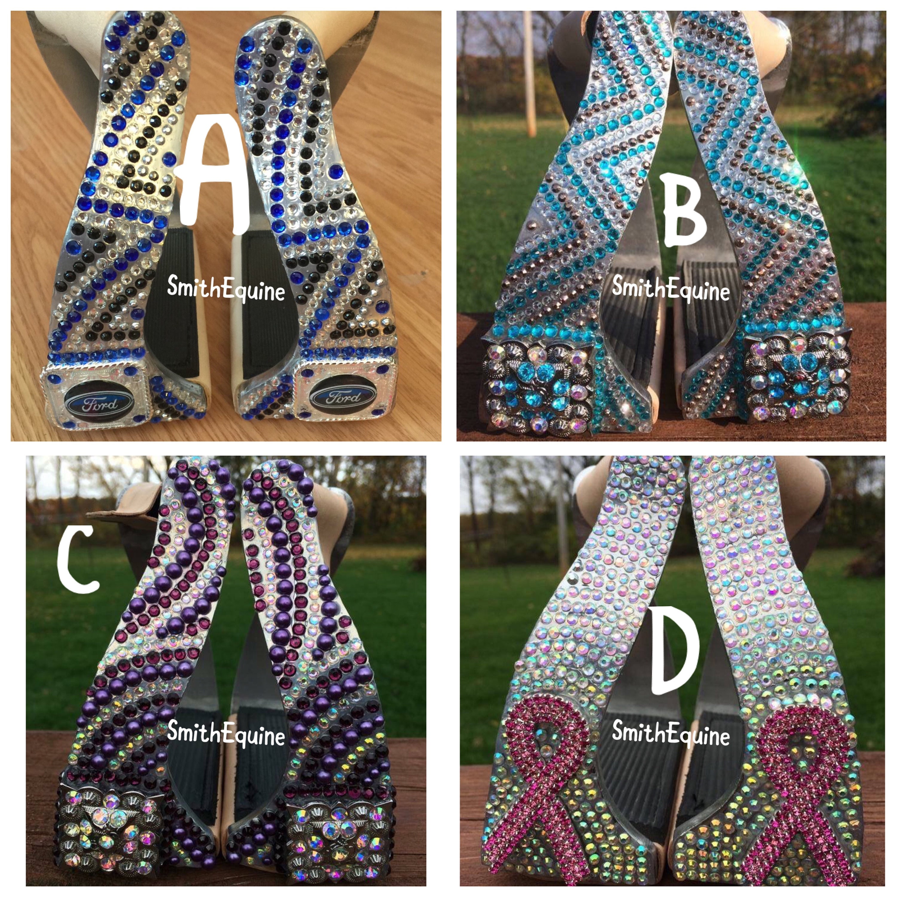 Bling Stirrups youth & adult size