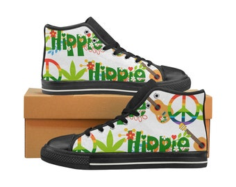 34299af155cd0e Hippie Peace Sign Weed Art