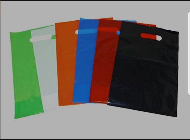Plastic Merchandise bag wlogo