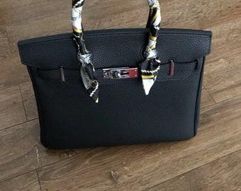 c48da26069 Customized luxury inspired Handmade Leather bag