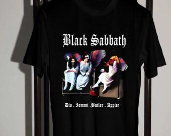 fc41f4fc Black Sabbath Shirt, Black Sabbath Heaven and Hell T Shirt Hypebeast Street  Wear Size S-2XL